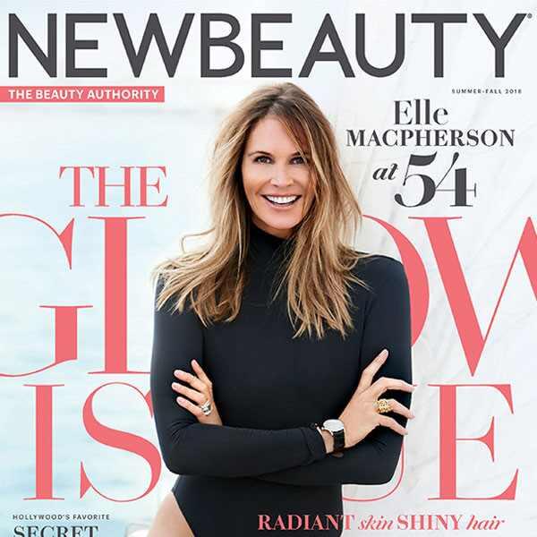 Elle Macpherson, New Beauty, Summer-Fall 2018