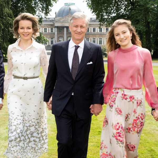 Belgian Royal Family, Princess Eléonore, Prince Gabriel, Queen Mathilde, King Philippe, Princess Elisabeth, Prince Emmanuel