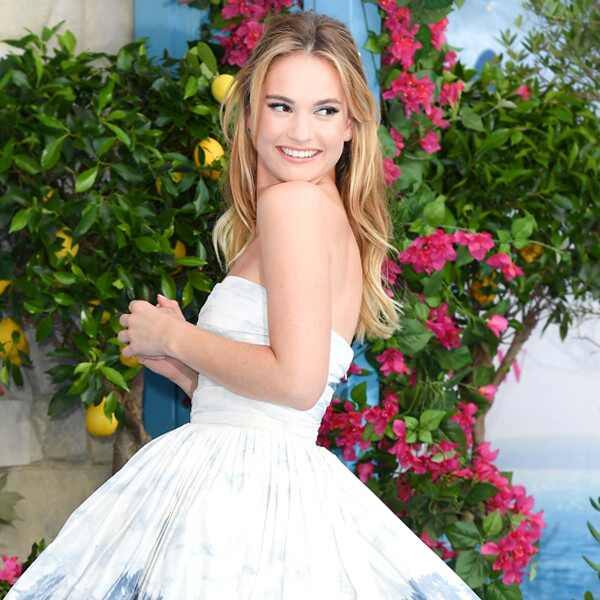 ESC: Best Dressed, Lily James