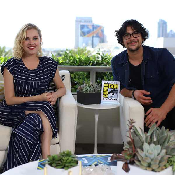 The 100, Bob Morley, Eliza Taylor