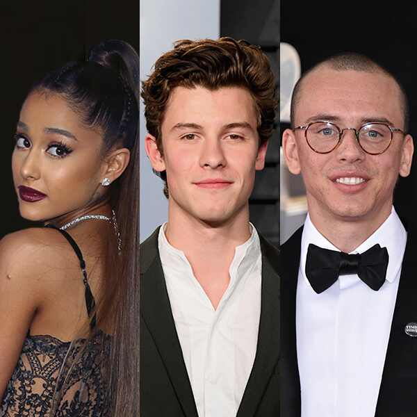 Ariana Grande, Shawn Mendes, Logic, VMAs Performers