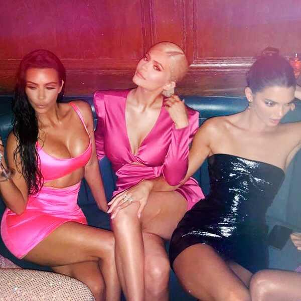 ESC: Kylie Jenner, Kim Kardashian, Khloe Kardashian, Kourtney Kardashian, Kendall Jenner