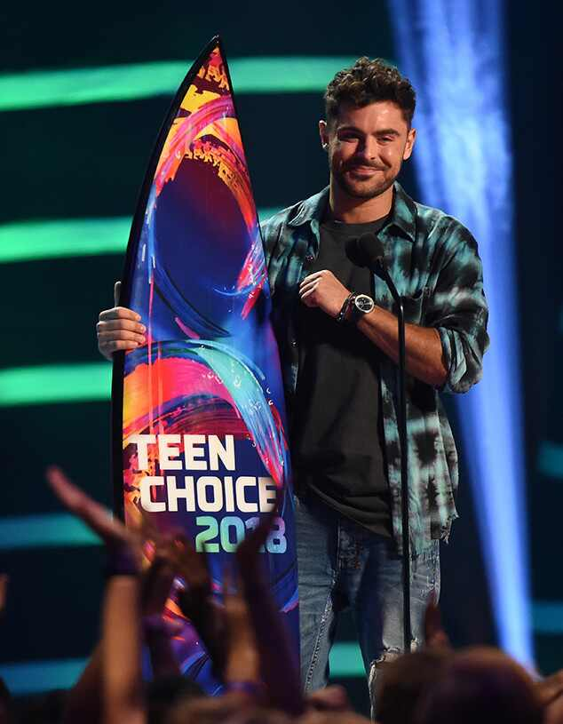 Zac Efron, 2018 Teen Choice Awards