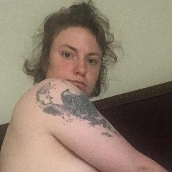 Lena Dunham, Naked, Nude
