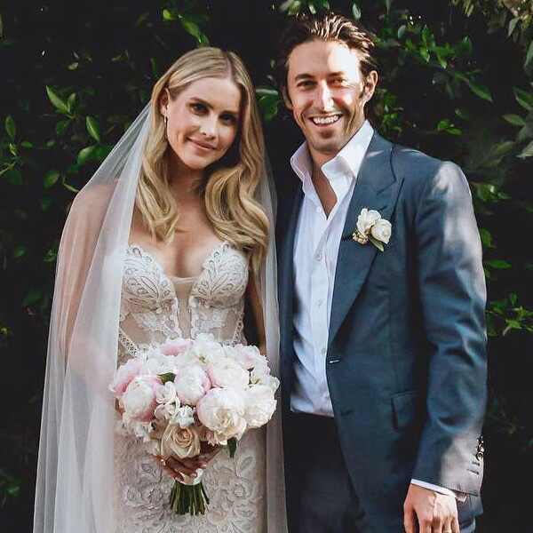 Claire Holt, Andrew Joblon, wedding