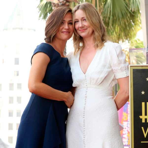 Jennifer Garner, Judy Greer, Hollywood Walk of Fame