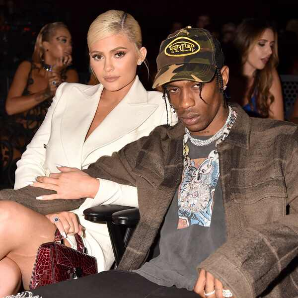 Kylie Jenner, Travis Scott, 2018 MTV Music Video Awards, VMAs