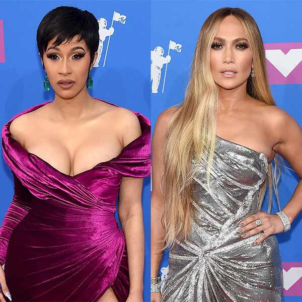 Cardi B, Jennifer Lopez, Best Dressed Poll, 2018 MTV Video Music Awards, VMAs