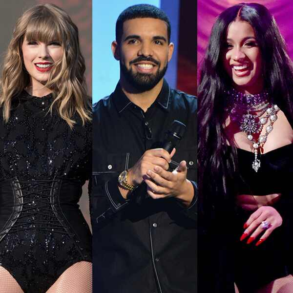Best of Summer Music, Taylor Swift, Drake, Cardi B