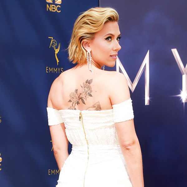ESC: Scarlett Johansson, 2018 Emmys