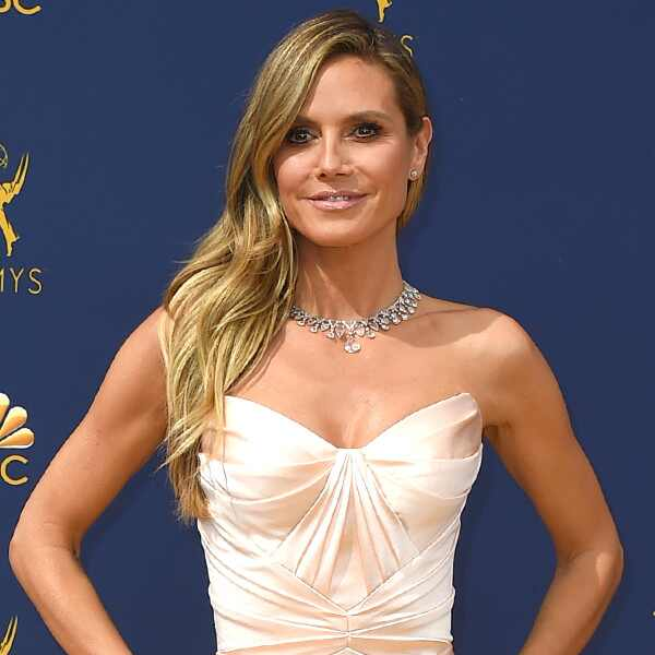 Heidi Klum, 2018 Emmys, 2018 Emmy Awards, Red Carpet Fashions