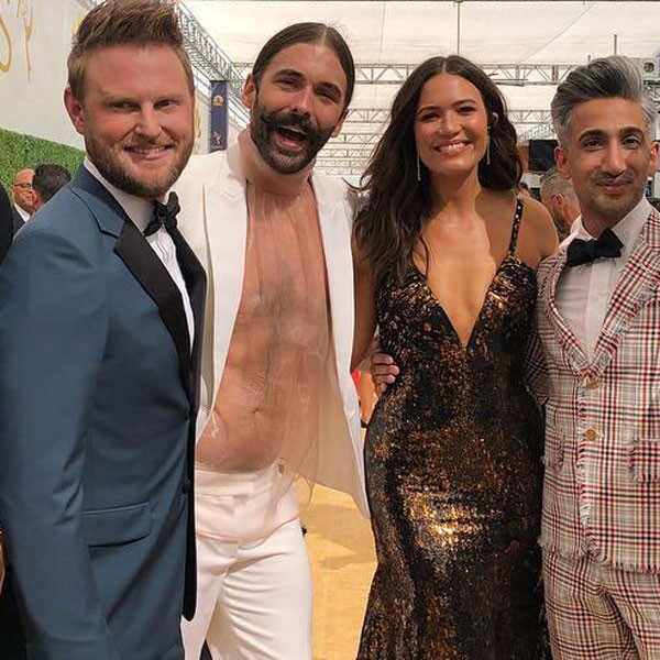 <i>Queer Eye</i> Cast, Mandy Moore, 2018 Emmys
