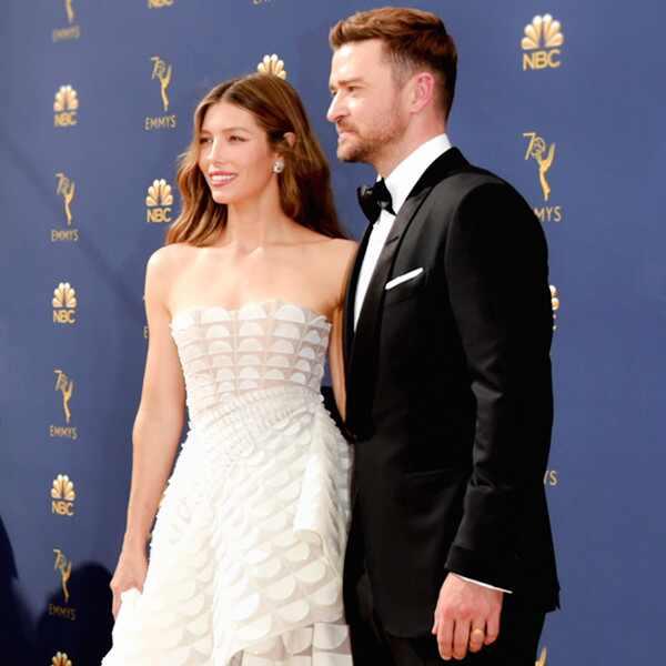 ESC: 2018 Emmy Awards, Jessica Biel, Justin Timberlake