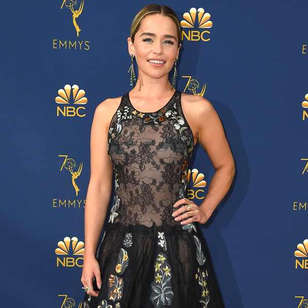 Emilia Clarke, 2018 Emmys, 2018 Emmy Awards, Red Carpet Fashions