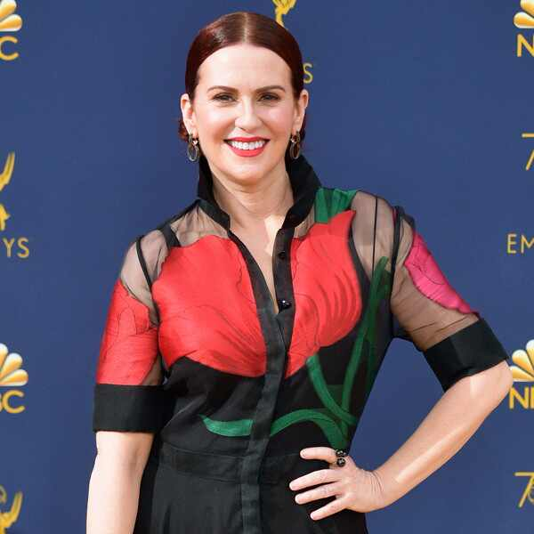Megan Mullally, 2018 Emmys, 2018 Emmy Awards, Red Carpet Fashions
