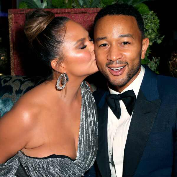 Chrissy Teigen, John Legend, 2018 Emmy After Party Pics