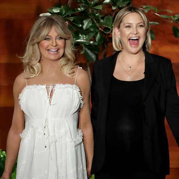 Goldie Hawn, Kate Hudson, The Ellen DeGeneres Show