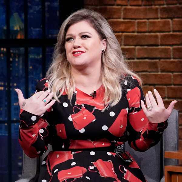 Kelly Clarkson, Seth Meyers