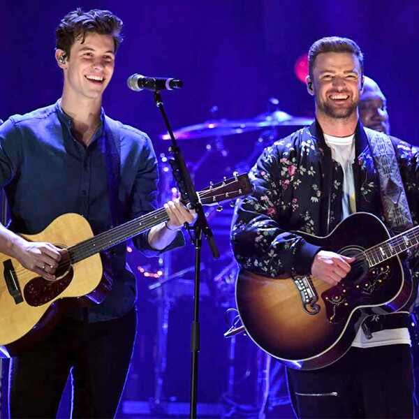 Shawn Mendes, Justin Timberlake, 2018 iHeartRadio Music Festival