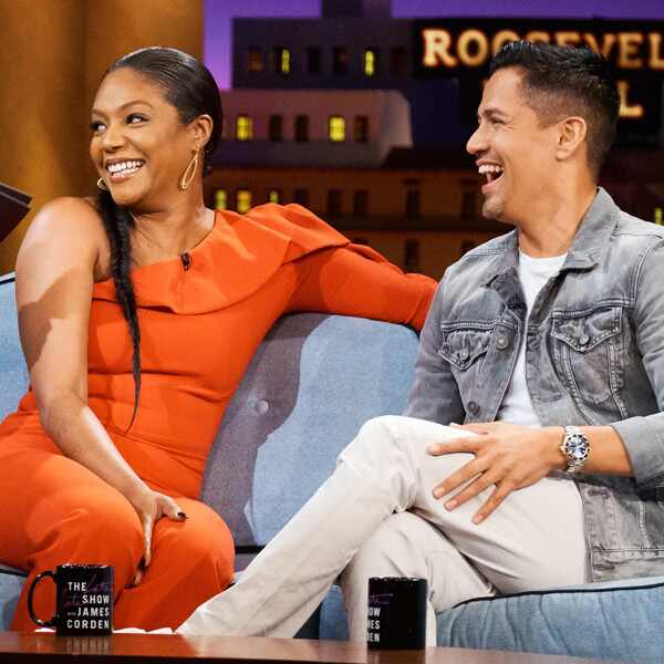 Tiffany Haddish, Jay Hernandez, The Late Late Show With James Corden