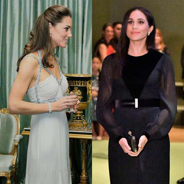 Kate Middleton, Meghan Markle, First Solo Outing
