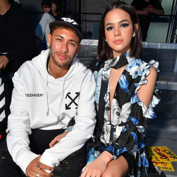 Neymar, Bruna Marquezine, Paris Fashion Week
