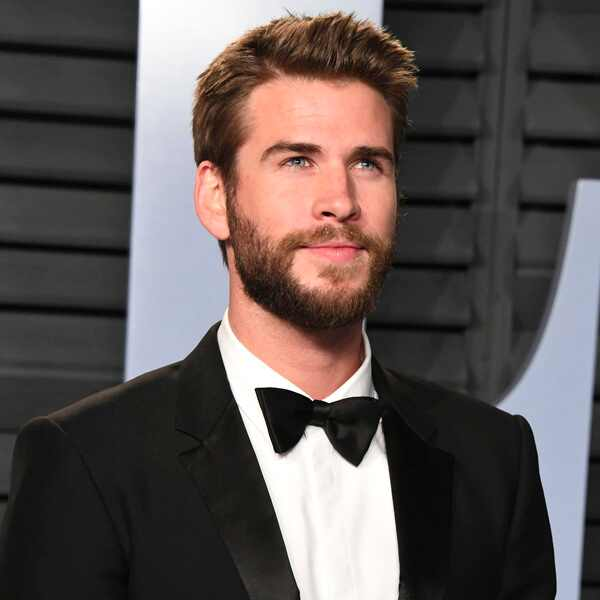 Liam Hemsworth, 2018 Vanity Fair Oscar Party