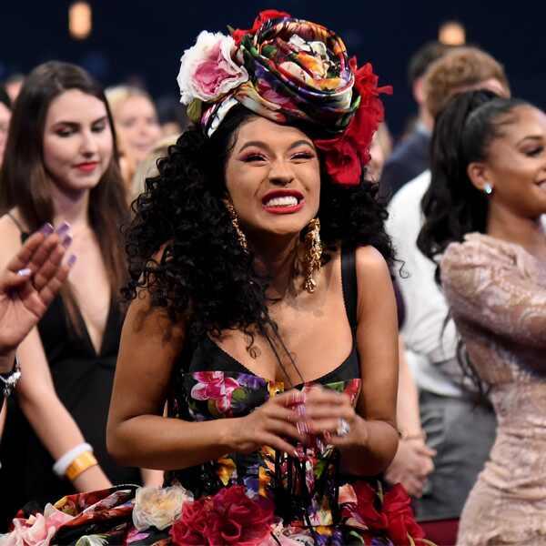 Cardi B, 2018 American Music Awards, AMAs, Candid