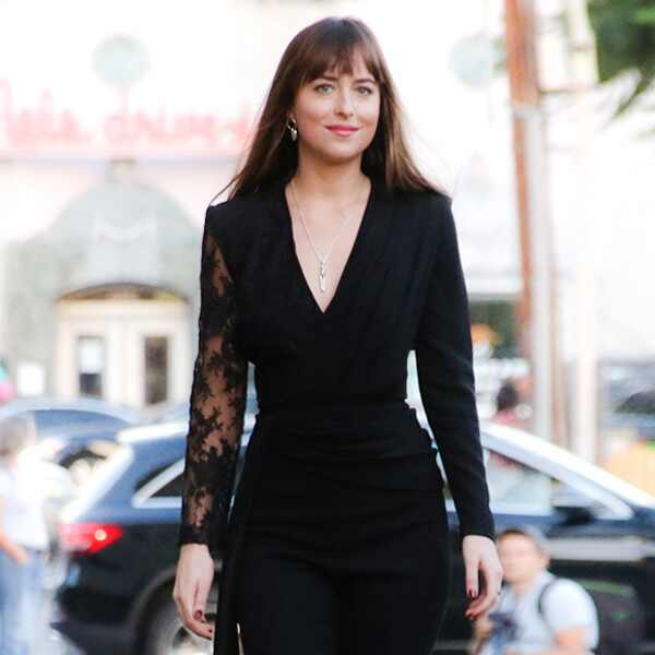 ESC: Dakota Johnson, Street Style