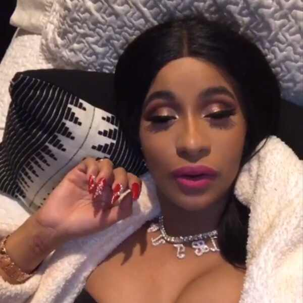 Cardi B, Surprise Birthday, Instagram