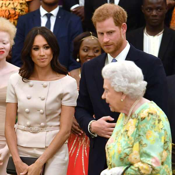 Meghan Markle, principe Harry, reina Isabel