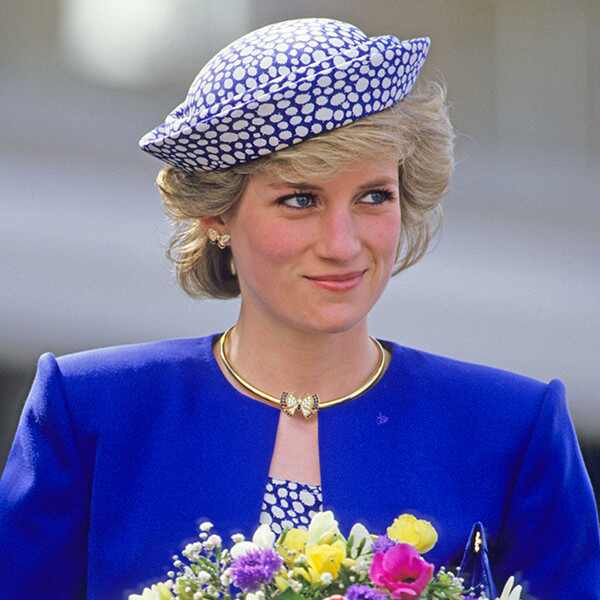 Princess Diana, Butterfly Earrings