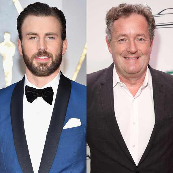 Chris Evans, Piers Morgan