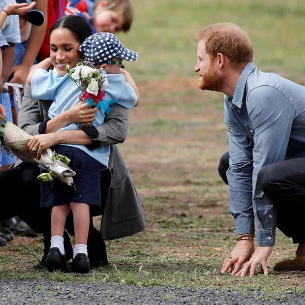 Prince Harry, Meghan Markle, Luke Vincent