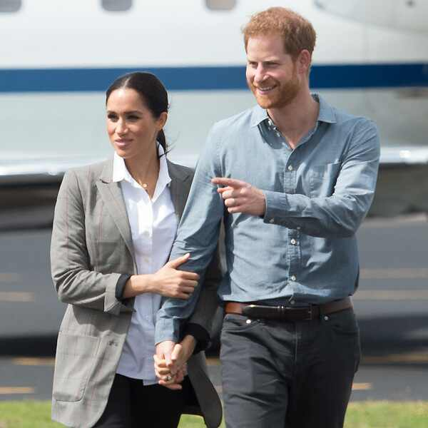 Prince Harry, Meghan Markle, Australia Royal Tour, PDA
