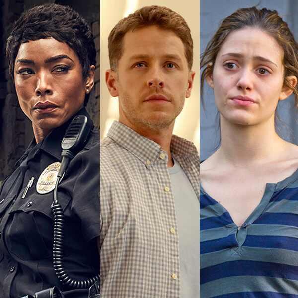 TV Split, Josh Dallas, Angela Bassett, Emmy Rossum