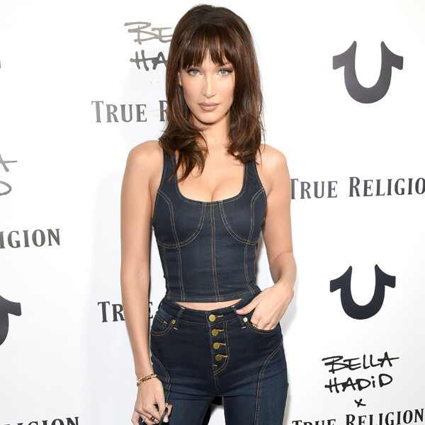 Bella Hadid, Bella Hadid x True Religion Event Campaign Party
