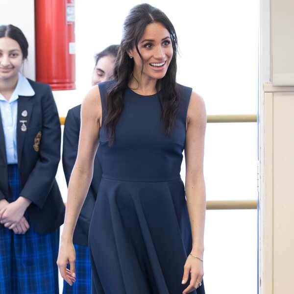 Meghan Markle, Outfit, Macarthur Girls High School Visit