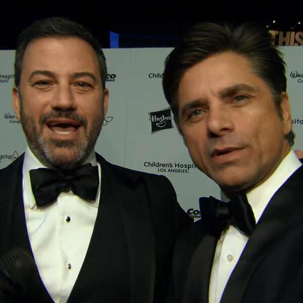Jimmy Kimmel, John Stamos, Children's Hospital L.A. Gala