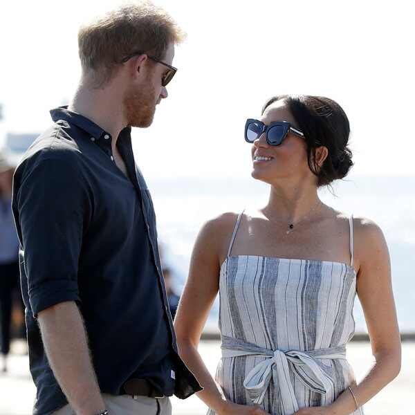 Prince Harry, Meghan Markle, Baby Bump Cradle