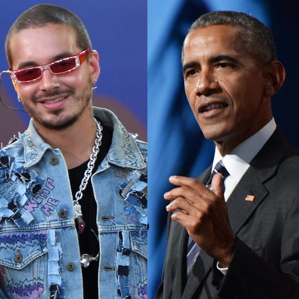 J Balvin, Barack Obama