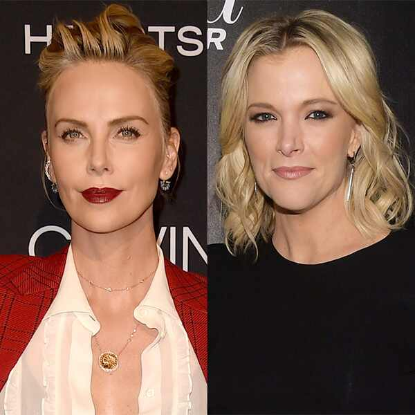 Charlize Theron, Megyn Kelly