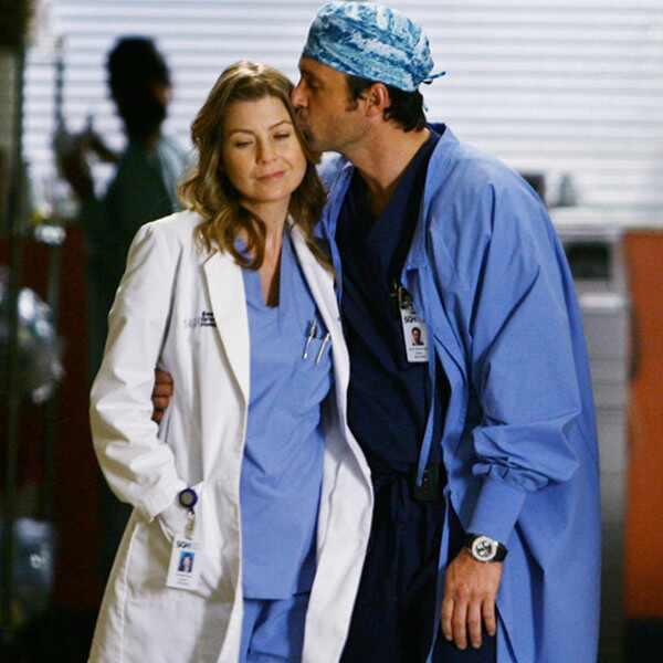 Grey's Anatomy, Ellen Pompeo, Patrick Dempsey