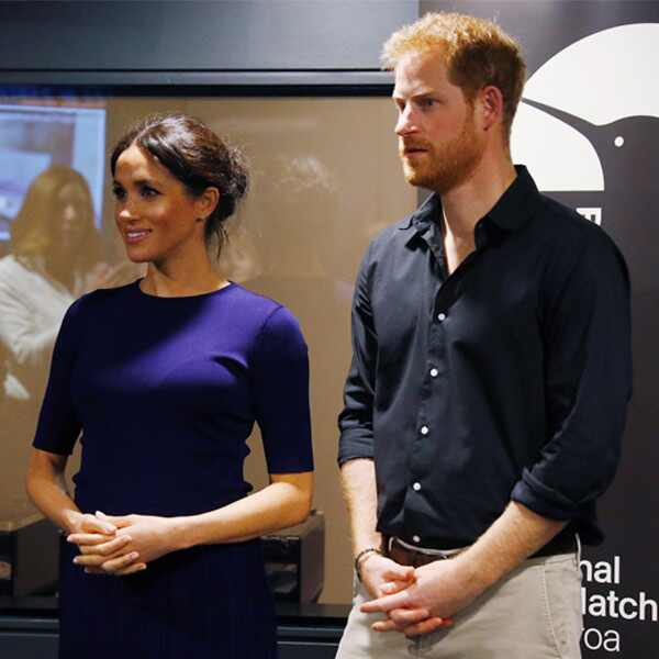 Meghan Markle, Prince Harry, Kiwi Hatchery, New Zealand