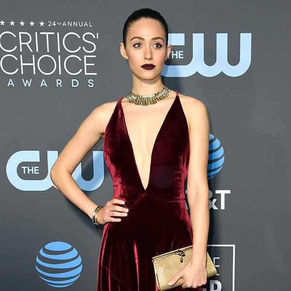 Emmy Rossum, 2019 Critics Choice Awards