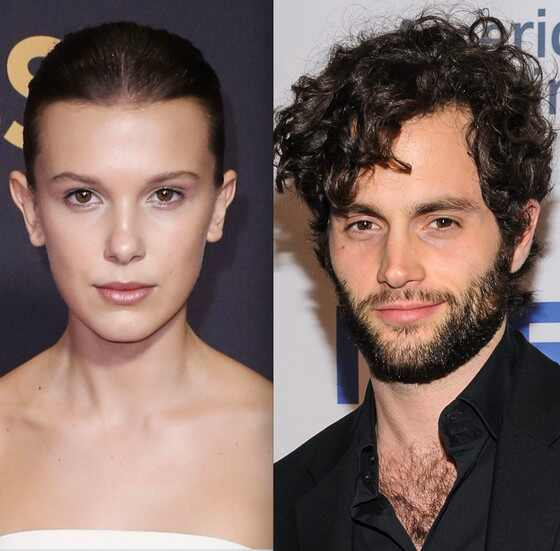 Millie Bobby Brown, Penn Badgley