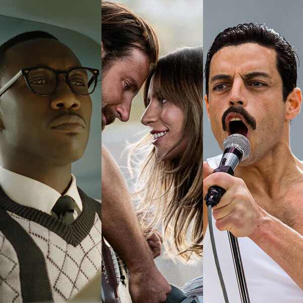 Green Book, A Star Is Born, Bohemian Rhapsody, Oscar Nominations