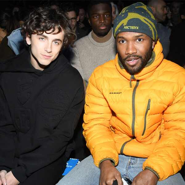 Timothee Chalamet, Frank Ocean, Paris Fashion Week