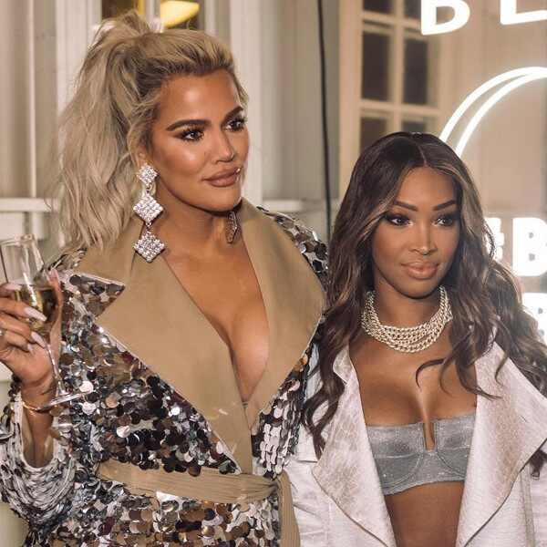 Khloe Kardashian, Malika Haqq, Becca Cosmetics