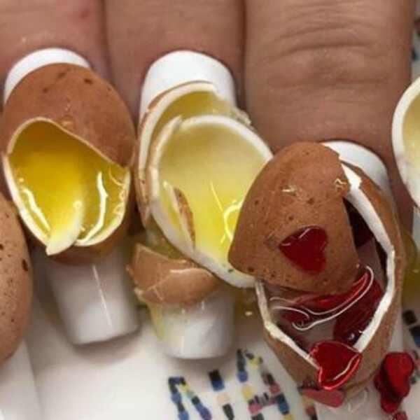 Unhas de Ovo